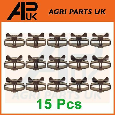 10 Poly Tape Hot Wire Rope Inline Line Electric Fence Ratchet Tensioner Strainer