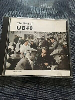 the best of ub40 volume one CD VGC