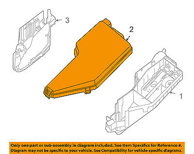 NISSAN OEM 09-13 Altima 2.5L-L4 Fuse Relay-Top Cover 24382ZY70A
