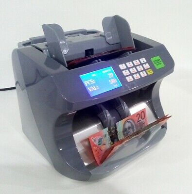 Auscount Aus5200 Heavy Duty Commercial Money Counter Extra Quick