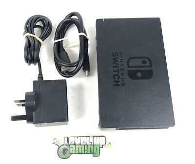 Nintendo Switch Docking Station TV Dock, HDMI cable and charger Official hub #1