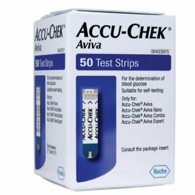 Accu-Chek Aviva 50 Test Strips Blood Glucose