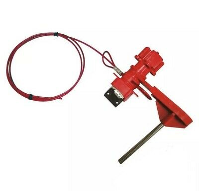 """Brady Small Universal Valve Lockout Arm And 8"""" Cable Y406643"""