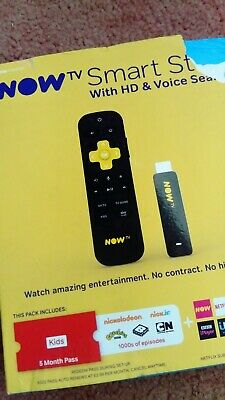 Now TV Smart Stick + 5 months kids pass latest nowtv bbci uktv itv HD streamer