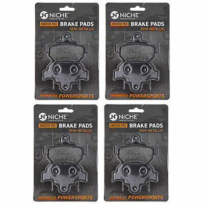 NICHE Brake Pad Set Suzuki Boulevard GZ250 Savage 650 Front Semi-Metallic 4 Pack