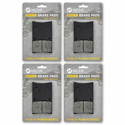NICHE Brake Pad Set Suzuki Intruder 800 Boulevard Front Semi-Metallic 4 Pack