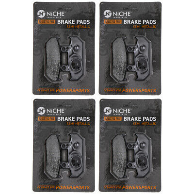 NICHE Brake Pad Set Suzuki Burgman 650 400 69100-10860 Rear Semi-Metallic 4 Pack