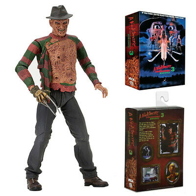 "HOT 7"" Action Figure NECA Nightmare on Elm Street Freddy Ultimate Dream Warriors"