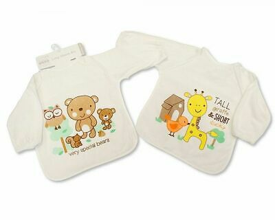 724 3 Pack Nursery Time Baby Bibs Girls with PEVA back