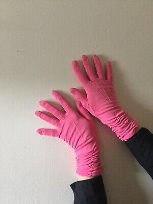 Vintage Pink Gloves By Fownes 1950s 60s Size 7.5