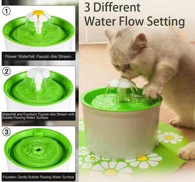 Automatic Pet Water Fountain Bowl Drinking Water Dispenser Drink for Cat Dog