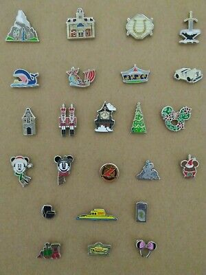 2019 Disney Tiny Kingdom Series 1 COMPLETE SET of 25 PINS with Park Map
