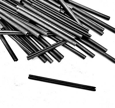 """50 PC 1/8""""x2"""" COIL SPRING TENSION PINS HEAVY DUTY H88 VOGELSANG"""