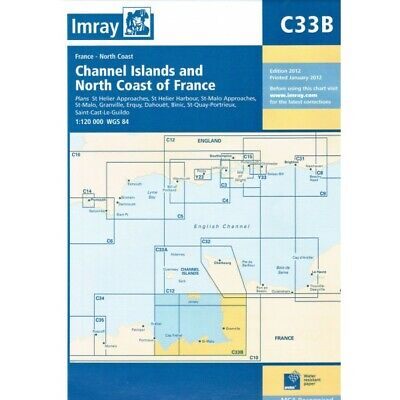 CARTE MARINE IMRAY C33B CHANNEL ISLAND (SOUTH) 12 alciumpeche