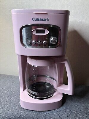 PINK Cuisinart Breast Cancer 12-Cup Coffee Maker/Brewer Pot!