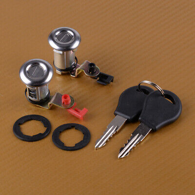 2x Car Left & Right Door Lock Set with Key Fit for Nissan Pickup Pathfinder