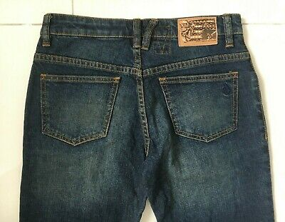 Volcom Boys Kids Shibuya Tight Fit Blue Jeans Size 12 Youth or W 27