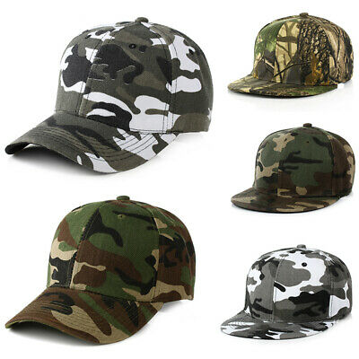 Men Women Travel Camouflage Military Sports Baseball Cap Snapback Trucker Hat
