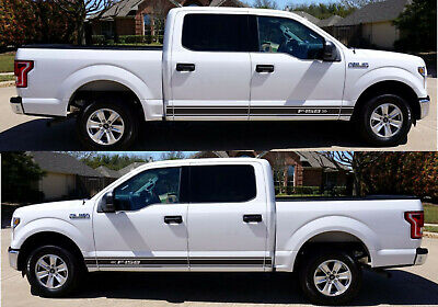 Decal Sticker Vinyl Side Panel Stripes For Ford F150 F-50 Raptor Off Road turbo