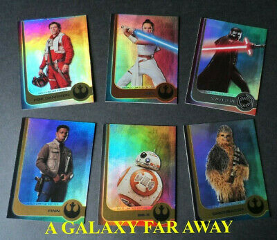 Topps Star Wars Journey To The Rise Of Skywalker Ltd Cards(Choose Your Card)