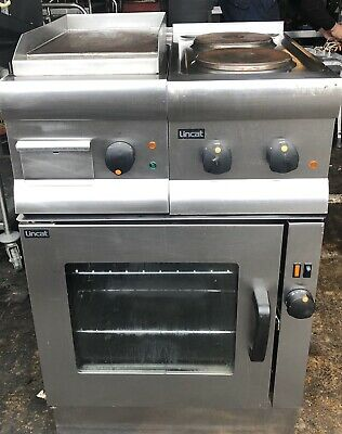 Lincat V6/FD Electric Fan Oven With 2 Ring Hob & GS3 Griddle Combination.