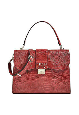 GUESS BORSA A MANO donna cleo VG74 3519 ROSSO EUR 95,00