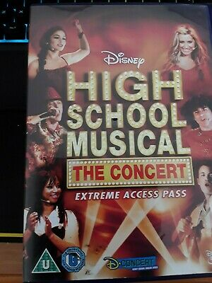 High School Musical - The Concert - Extreme Access Pass (DVD, 2007)