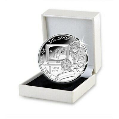 Belgium 2019 Silver Proof - 50 Years of First Landing on the Moon