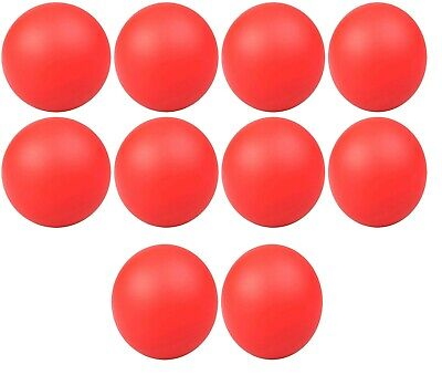 10 x RED ANTI STRESS RELIEVER BALL STRESSBALL RELIEF ARTHRITIS PHYSIO HAND AID