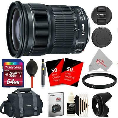 Canon EF 24-105mm f/3.5-5.6 IS STM Lens Ultimate Accessory Kit