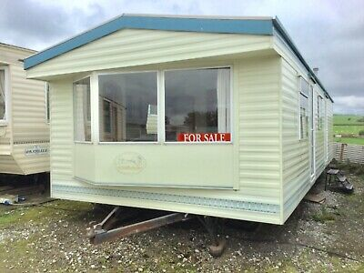 MOBILE HOME STATIC CARAVAN FOR SALE, 32ft x 12ft 2 BEDROOM FREE DELIVERY 50MILES