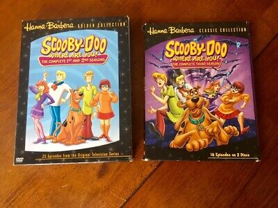 Scooby-Doo, Where Are You? - Seasons One  Two and Three,  Complete Seasons. DVD