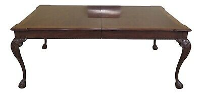 LF48224EC: HENREDON Rittenhouse Square Collection Clawfoot Dining Room Table