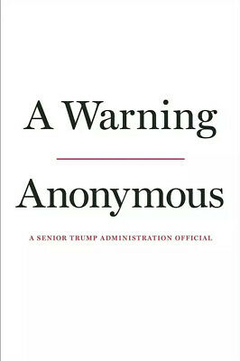 A Warning by Anonymous (Pre-Order) November 19, 2019 -HARDCOVER