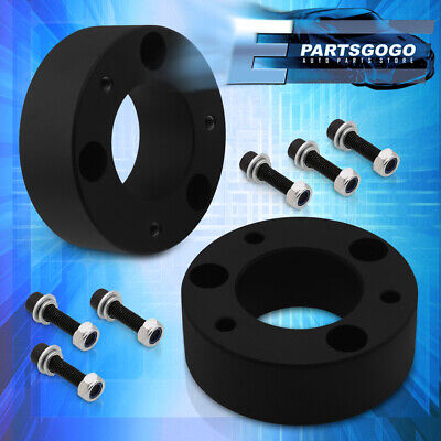 """For 04-20 Ford F150 2WD 4WD 3"""" Front Suspension Leveling Lift Kit Spacers Black"""