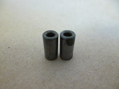 """1/8"""" ID x 1/4"""" OD x 1/2"""" TALL STAINLESS STEEL STANDOFF SPACERS 2pc."""