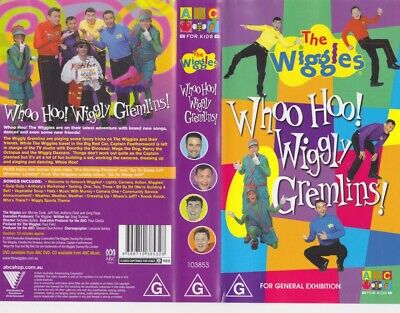 The Wiggles  Whoo Hoo Wiggly Gremlins Vhs Pal Video