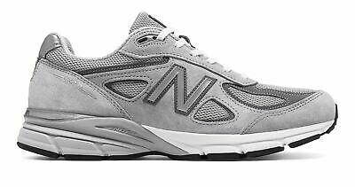 Factory Second New Balance Men's Made in US 990v4 Shoes Grey