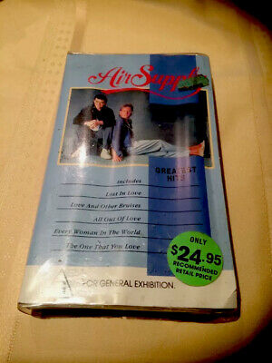 Air Supply Greatest Hits Vhs Video Pal A Rare Find