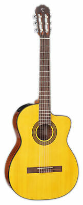 Takamine GC3CE Classical Cutaway Acoustic-Electric Guitar - Natural Gloss