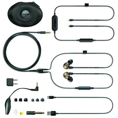 Shure SE535 Sound Isolating Earphones - Bronze w/ Bluetooth Remote