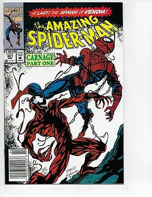 AMAZING SPIDER-MAN #361 - High Grade Key Issue Venom & 1st Appearance Carnage