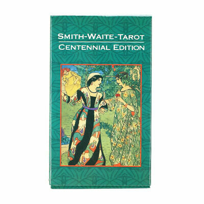 Tarot Cards Deck Vintage Antique 78 Cards High Quality Colorful Card Game J5P4Q