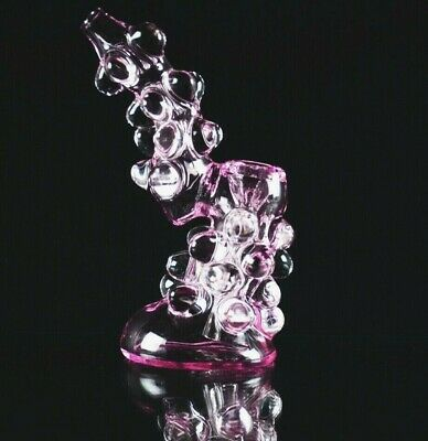 """""""New Hookah Collectible Smoking Glass Hand Bubbler 6"""" Pink Water pipe tobacco"""