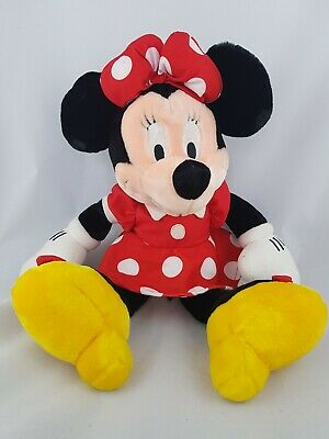 """Disney Store Soft Plush 18/"""" Minnie Mouse as the Easter Bunny Doll Toy 2019 BNWT"""