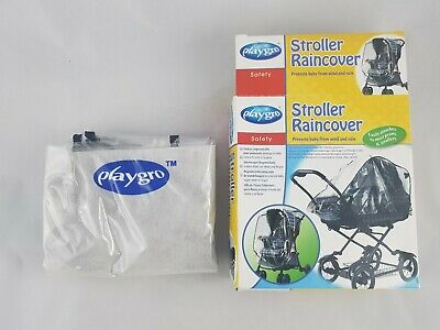PLAYGRO - Stroller Raincover - Fits Most Prams & Strollers Brand New
