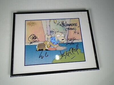 Rocko's Modern Life Limited Edition Cel Joe Murray Tom Kenny Mr. Lawrence SIGNED