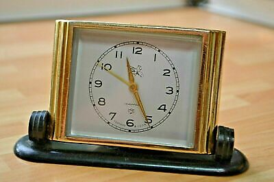 Rare Vintage Soviet alarm clock. . Working good condition