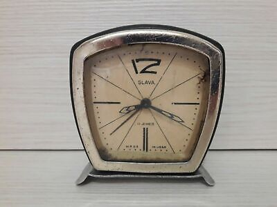 Soviet table clock. Glory. Vintage Rare. Made in USSR