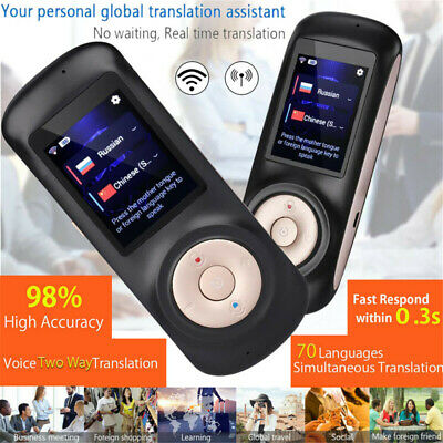 2019 Smart Voice Translator WIFI Real Time 52 Language Portable Touch Screen AU